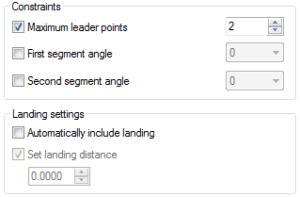 landing settings